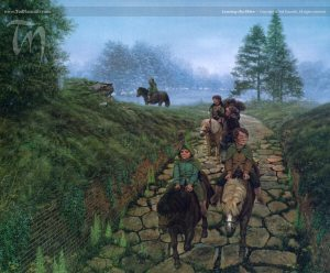 Ted nasmith, Leaving the Shire