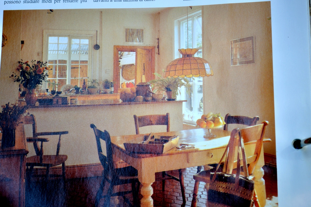 018 arredare country vol1 cucina anni '70 banco a isola, mobili tipo ...