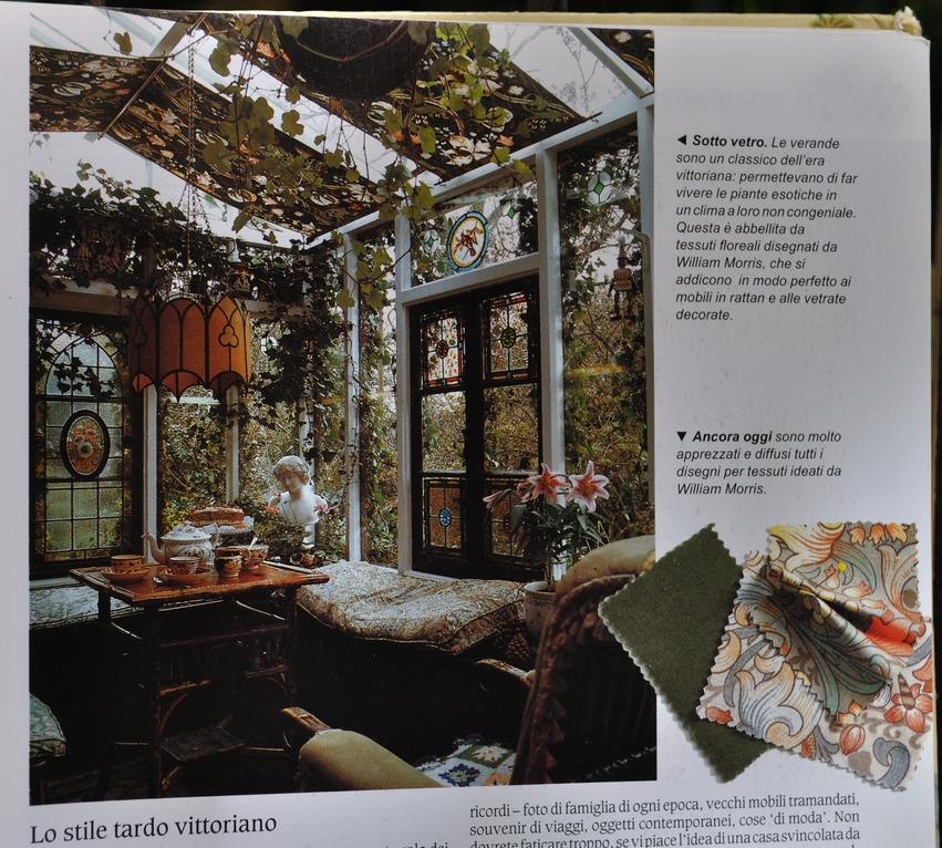 Verde giardinaggio irregolare for Come decorare lo stile vittoriano