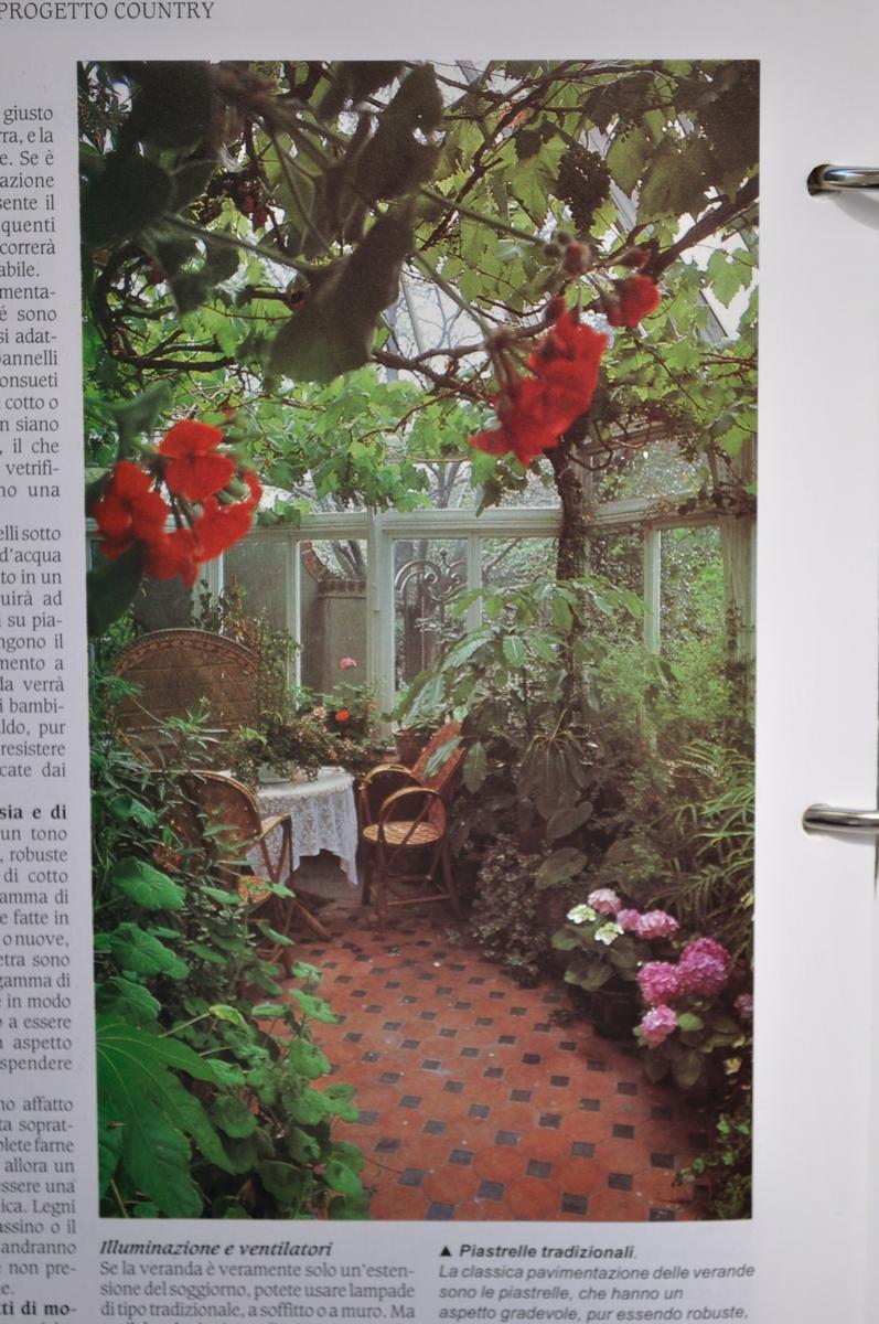 039 arredare country vol1 serre verande e giardini d for Arredare i giardini