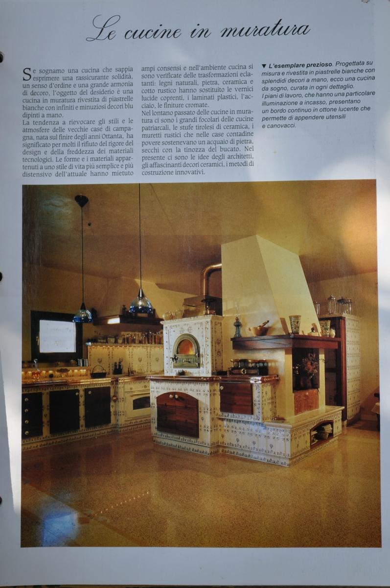 Stile scandinavo giardinaggio irregolare - Cucina in muratura country ...