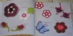 anemone, garofani, fucsie, farfalle