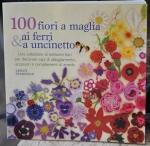 100 fiori a maglia e all'uncinetto, copertina