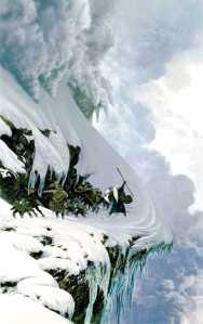 John Howe, approaching the Caradhras