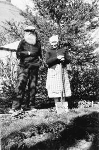 Sigtryggur e la moglie Hjaltlina