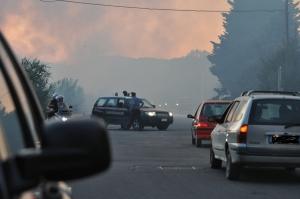 incendio 29 giugno 2011