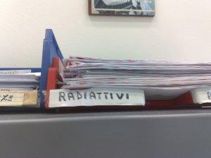pericolo radiattività
