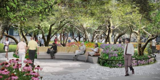 Illustrative Rendering - Philosophy Garden