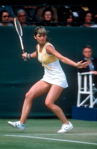 chris evert dritto