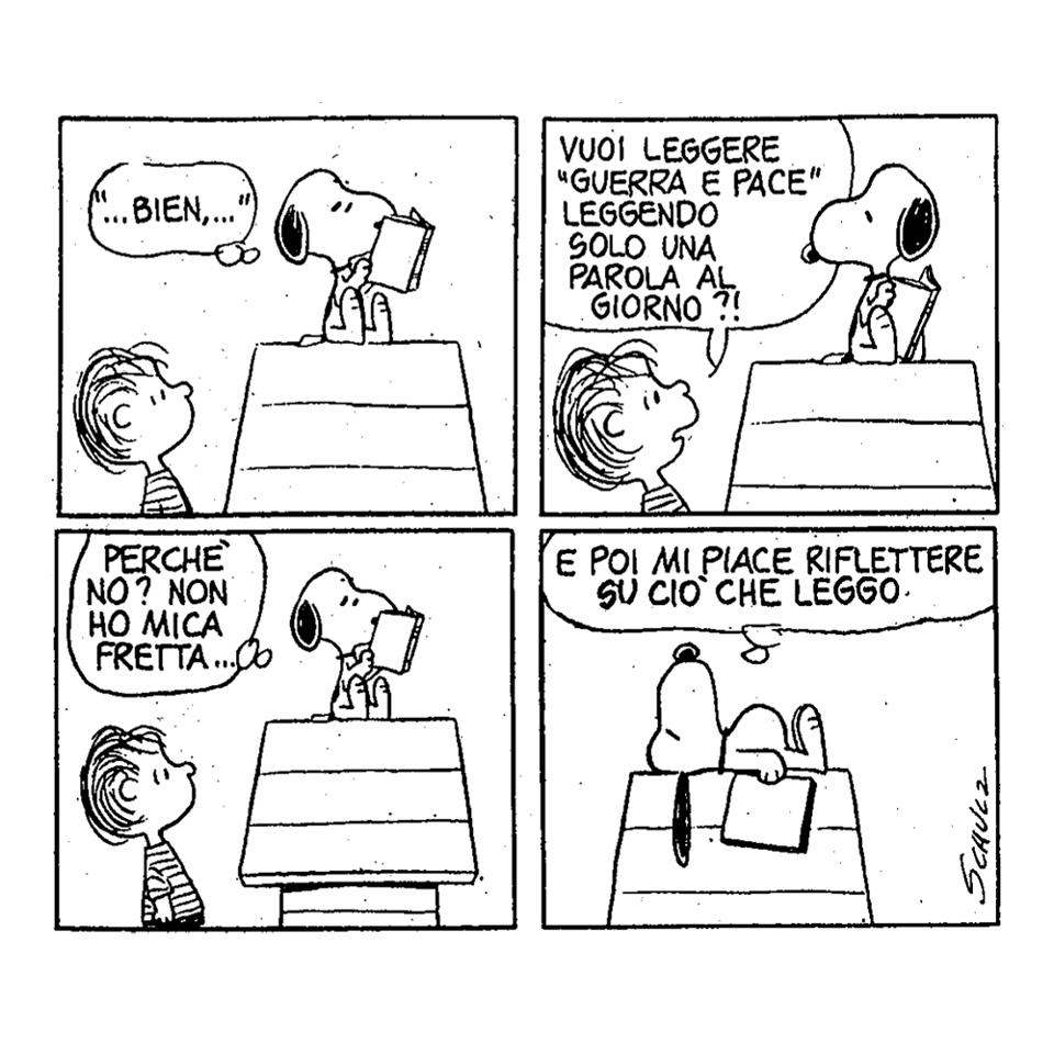snoopy-lettore